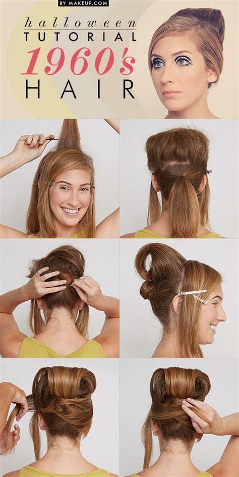 how to do sixties hairstyles halloween tutorial 1960 s beauty hairspray hair style