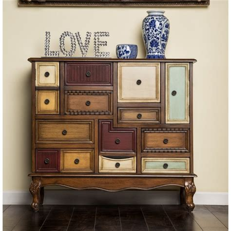 Accent Chests For Living Room by Furniture Of America 9 Drawer Accent Chest In