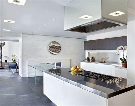 Cuisine Moderne Et Blanc by Cuisine Blanche Et Inox Id 233 Es Et Astuces En 90 Photos