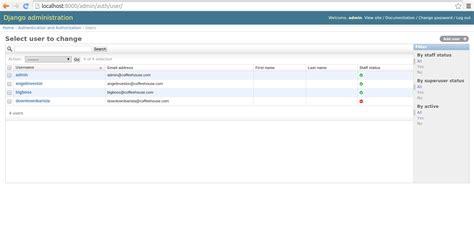 django creating new user introduction to the django user system