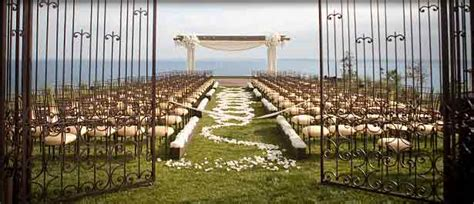 wedding in california venues the best palos verdes wedding venues officiant