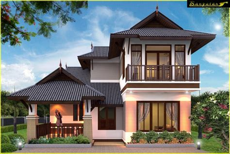 thailand home design contemporary thai style house design amazing