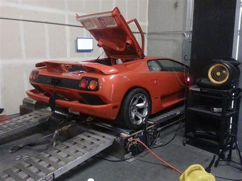 Lamborghini V8 Engine Lamborghini Diablo With Ls3 V8 Engine Has 550 Hp