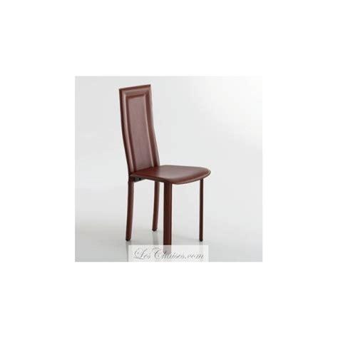 chaise de salle chaise salle a manger en cuir le monde de l 233 a