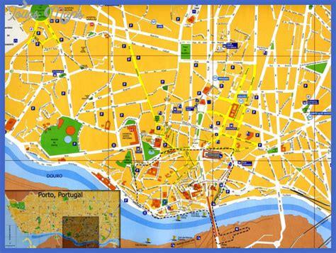 porto map map of porto portugal toursmaps
