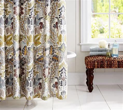 potterybarn shower curtain victoria shower curtain pottery barn