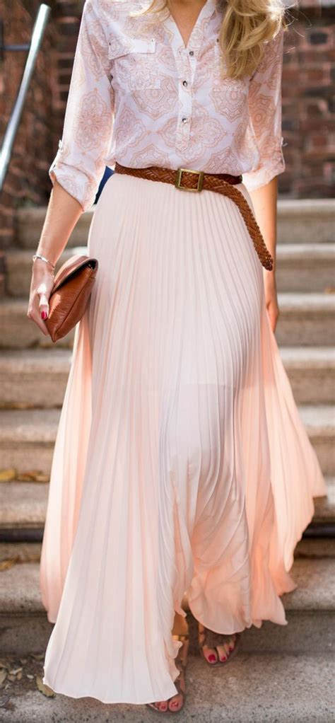 summers casual maxi skirts ideas 41 fashion best