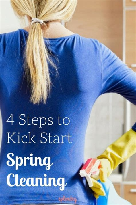 when does spring cleaning start four steps to kick start spring cleaning splendry