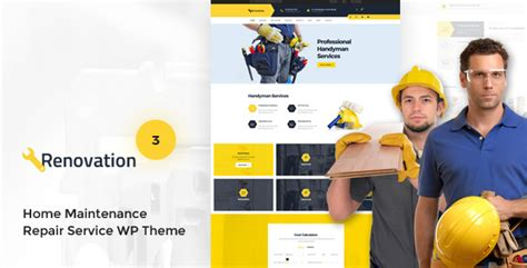 renovation theme renovation v3 0 1 home maintenance repair service theme