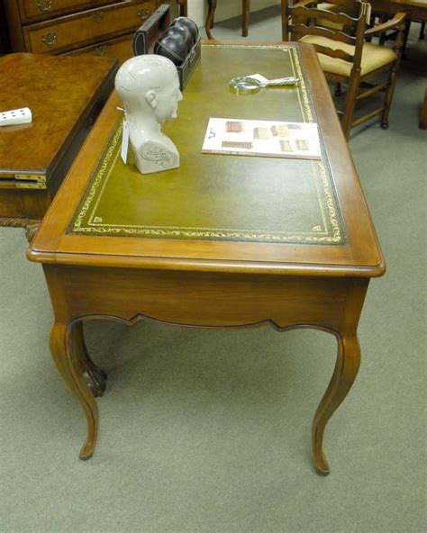 french country writing desk french provincial writing desk in cherrywood
