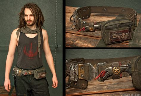 Edc Army by Post Apocalyptic Army Edc Belt By Nuclearsnailstudios On