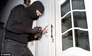 robbing a house two hundred bail criminals commit crime every day daily mail online