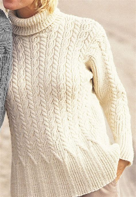 cable knitting patterns sweater tops with flare knitting patterns in the loop knitting