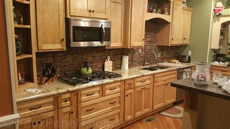 stone backsplashes for kitchens stacked stone backsplash roselawnlutheran