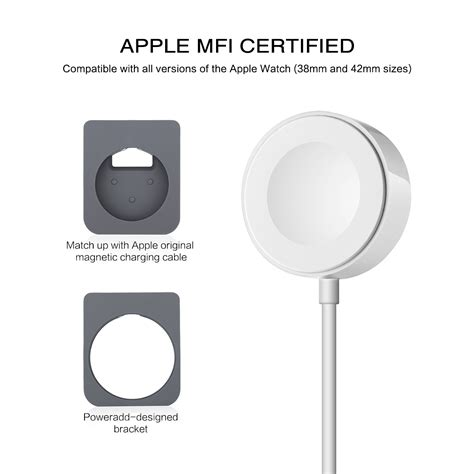 Sale Apple Magnetic Charging Cable 1meter Charger Bnib Ati magnetic charger charging cable stand for iwatch apple iwatch 38 42mm ebay