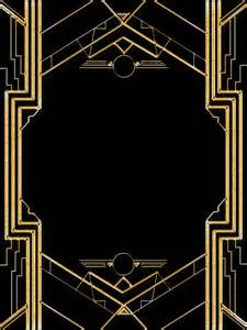 gatsby border template 1000 ideas about 1920s on 1920 theme