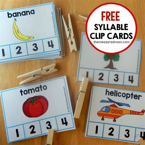 printable syllable games fun syllable count activity the measured mom