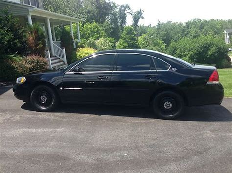 auto air conditioning service 2007 chevrolet impala electronic toll collection sell used 2007 chevy impala police 9c1 black 75k in new windsor new york united states for us