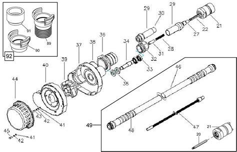 submersible parts diagram parts bga assembly 5