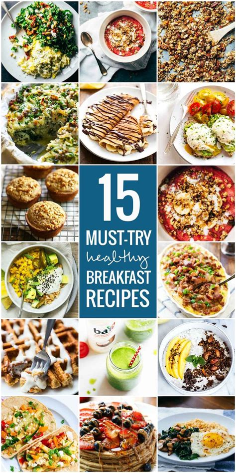 15 must try healthy breakfast recipes awesome muffins and eggs