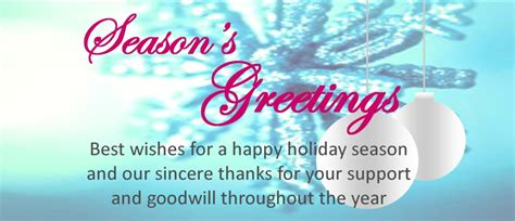 best wishes of the season season s greetings best wishes for a happy season