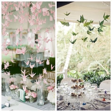 Origami Wedding Decorations - wedding ideas origami decor big things
