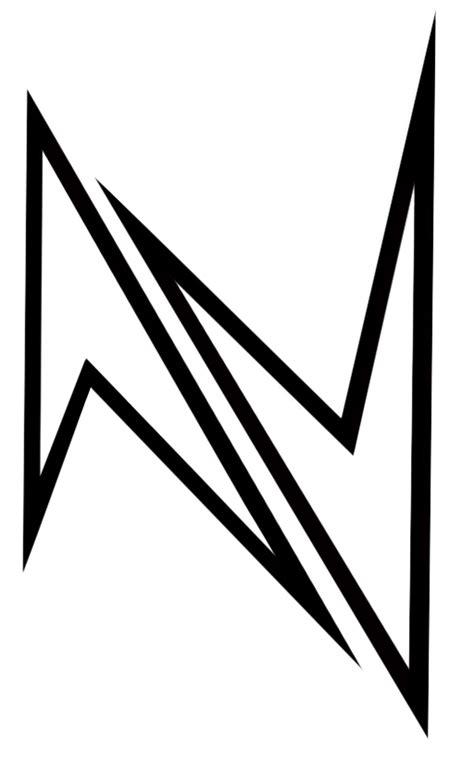 tattoo style alfabet n by teweth on deviantart
