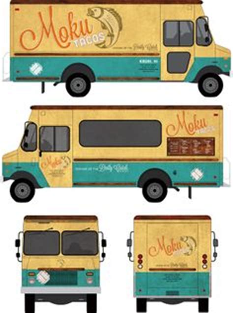 1000 Images About Food Truck On Pinterest Food Truck Trucks And Food Truck Business Food Truck Wrap Design Template