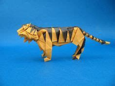 3d origami tiger tutorial 1000 images about oragami on pinterest origami 3d