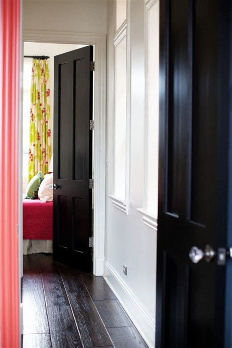 Painting Interior Doors Black 1000 Images About Interior Doors Painted On Doors Black Interiors And