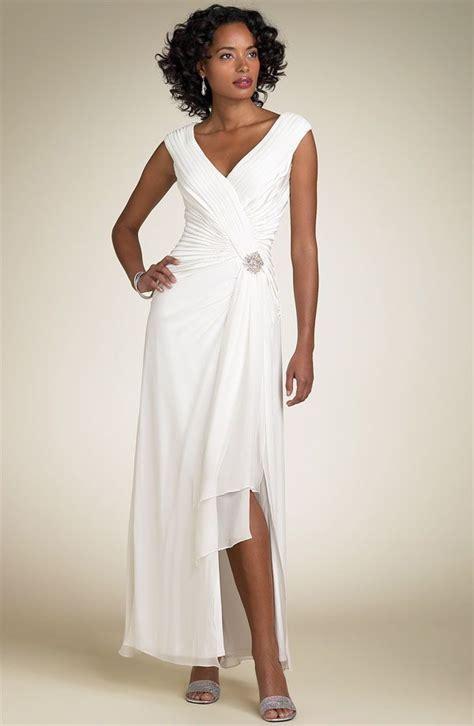 The Dressmarket Second Wedding Dresses Hippyshopper by Simple Informal V Neck Chiffon Wedding Dress For