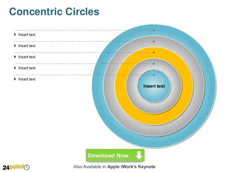 concentric circles powerpoint template concentric circles diagram ppt