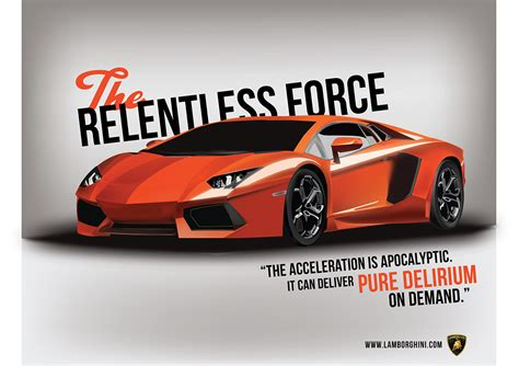 lamborghini aventador advertisement lamborghini aventador ad on student show