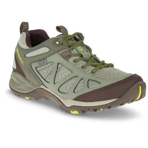 merrell hiking shoes womens merrell s siren sport q2 waterproof hiking shoes