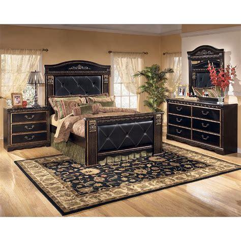 Coal Creek Bedroom Set by Coal Creek Mansion Bedroom Set Signature Design By