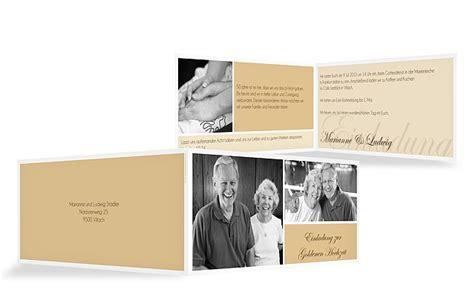 Einladung Zur Goldenen Hochzeit by Einladung Goldene Hochzeit Quot Fotowand Quot