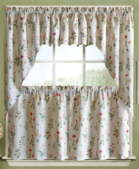 kitchen curtains swags english garden curtains swags valances tiers cafe