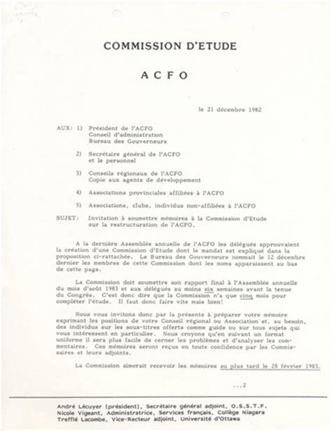 Modèles De Lettre Circulaire Lettre Circulaire De La Commission D 233 Tude Sur La Restructuration
