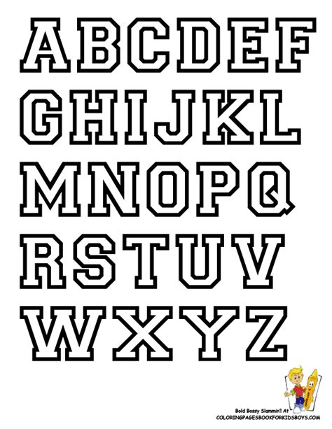 printable typography fonts free alphabet letter print out college alphabet coloring