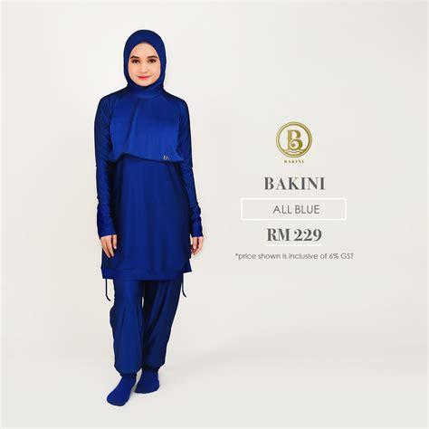 Sulbi Pakaian Renang Muslimah Ukuran L bakini swim wear baju renang for muslimah