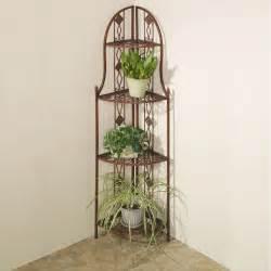 wooden corner plant stand pdf plans