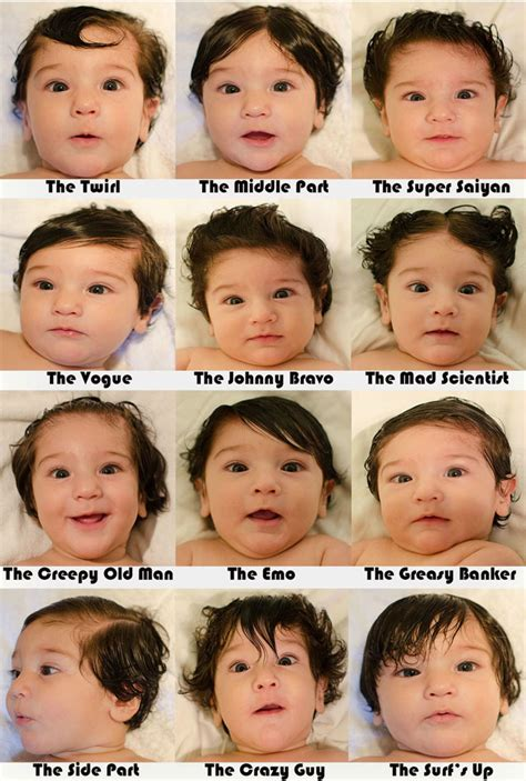 different hairstyles everyday for a month parents create 12 different hair styles for one baby with