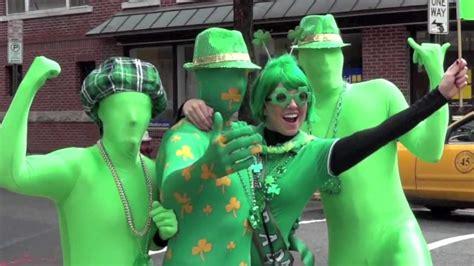 st patricks day morphsuit leprechauns  hoboken lepre