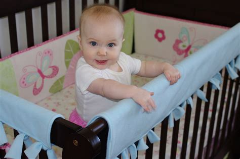 How To Make Crib Teething Guard crib rail teething guard tutorial baby bird sewing