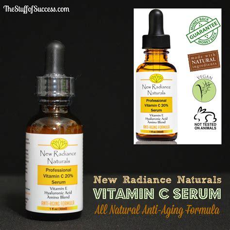 Diskon Serum Vit C New new radiance naturals vitamin c serum all anti aging formula