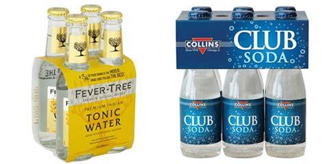 5 benefits of quinine or tonic water made man tonic water vs club soda what is the difference between