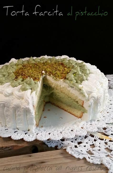 bagna per pan di spagna al latte torta farcita al pistacchio ricetta torta di compleanno