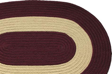 burgundy braided rug chesapeake bay burgundy braided rug
