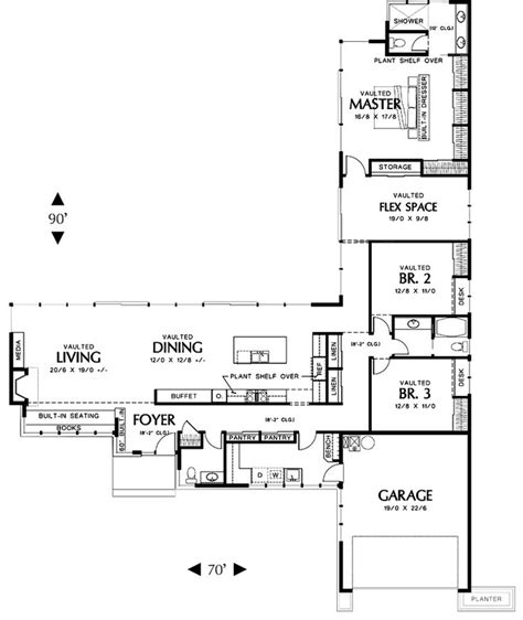 Non Open Floor Plans by 17 Best Ideas About One Floor House Plans On Pinterest