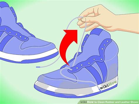 7 Steps To Clean And Fresh Workout Shoes by How To Clean Rubber And Leather Shoes 7 Steps With Pictures
